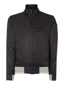 Funnel Neck Full Zip Harrington Jacket