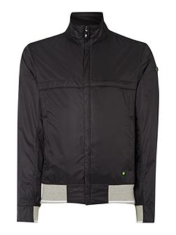 Men's Hugo Boss Funnel Neck Full Zip Harrington
