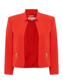 Boxy cropped jacket