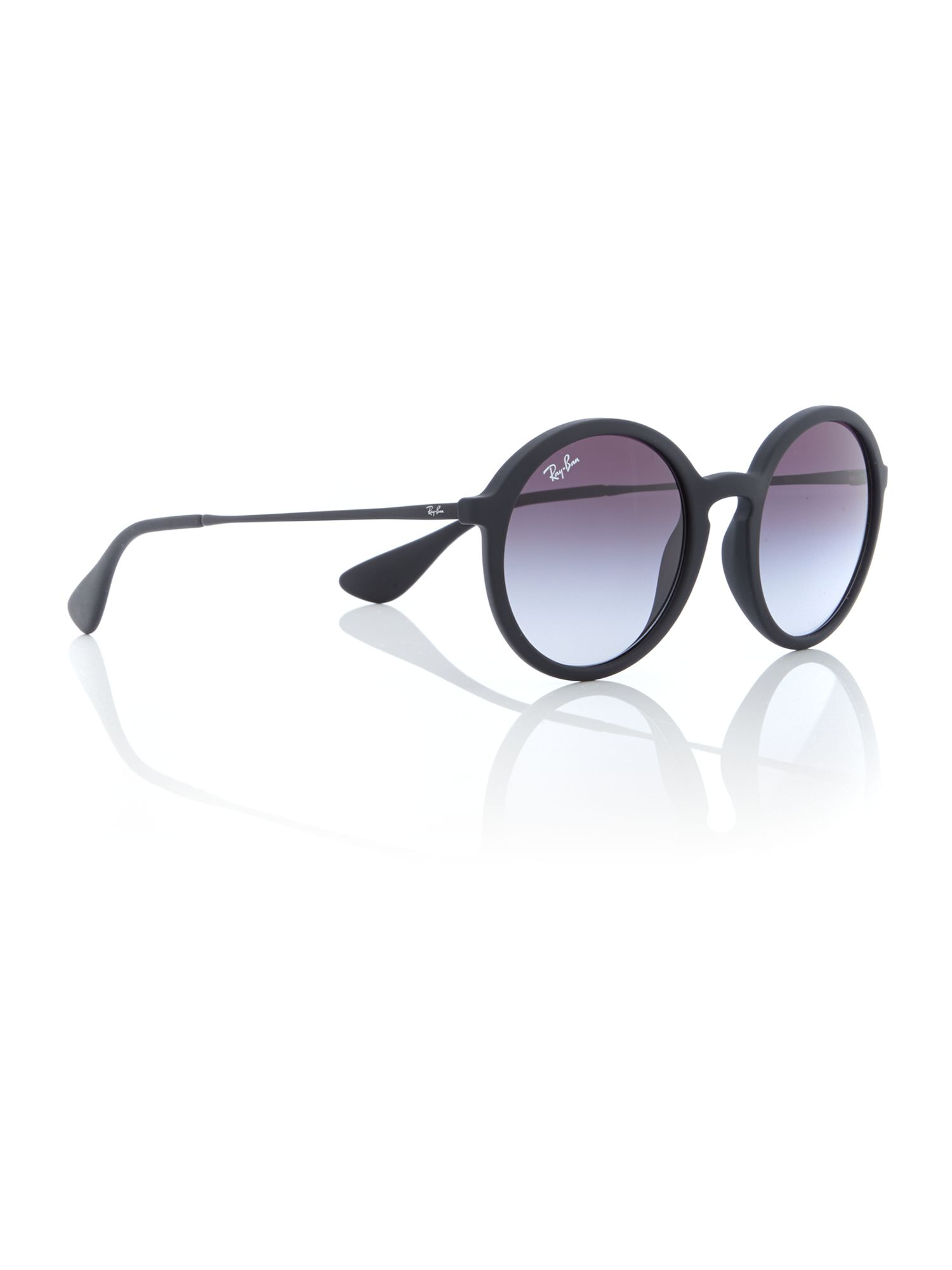 44ef516d8a Ray Ban Rb4125 Cats Sunglasses Tortoise Frame Crystal Brown Grad ...