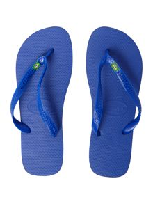 All Over One Colour Brazil Flip Flop