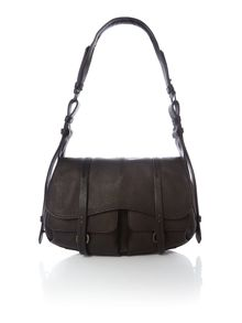 Radley Grosvenor black medium shoulder bag