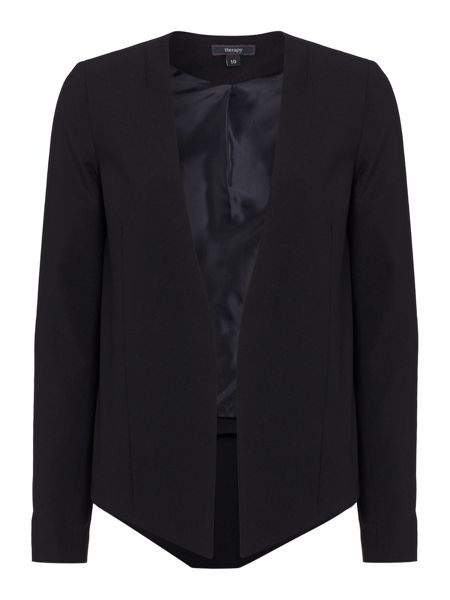 Therapy Tailored drop front jacket