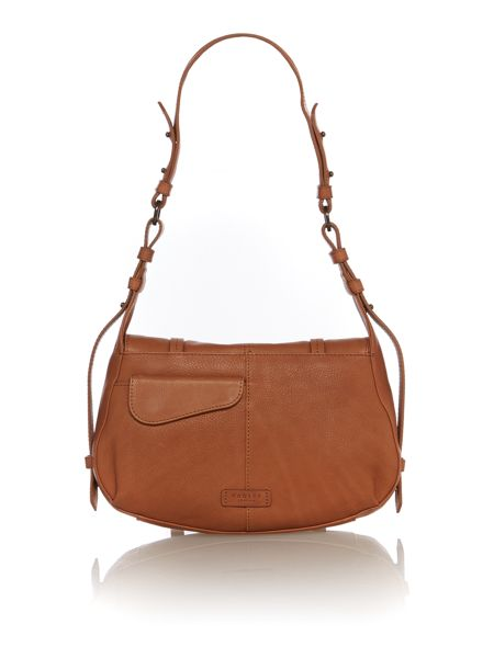 Radley Grosvenor tan medium shoulder bag