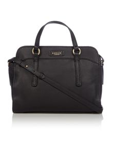 Hyde park black small cross body tote bag