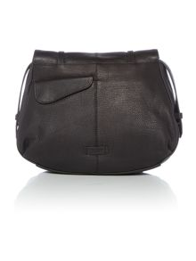 Grosvenor black large shoulder bag