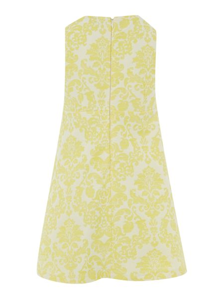 Benetton Girls damask dress