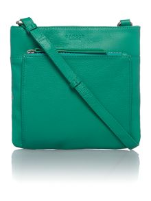 Richmond green small crossbody bag