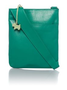 Pocket bag green cross body