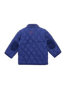 Newborn Boys quilted jacket