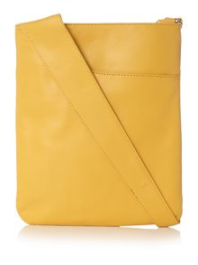 Pocket bag yellow cross body