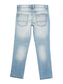 Girls distressed denim jeans