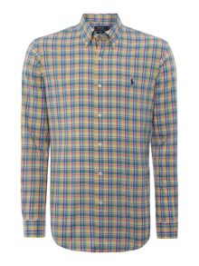 Classic Fit Long Sleeve Button Down Shirt