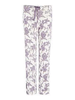 Sunset Floral Relaxed Jersey Pant