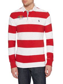 Polo Ralph Lauren Varsity Stripe Rugby Top