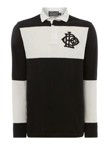 Block Stripe Rugby Top