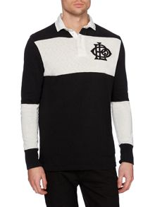 Polo Ralph Lauren Block Stripe Rugby Top