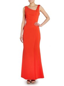 Sleeveless bodycon maxi dress