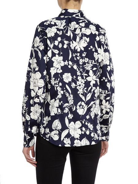 Lauren Ralph Lauren Long Sleeve slim fit shirt with floral pattern