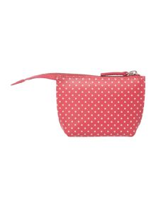 Heritage dog pink coin purse
