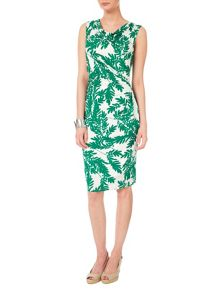 Fionn fern print dress