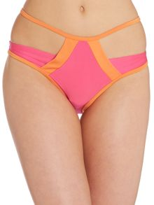 Caged Cut Out Bikini Bottom