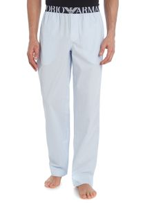 Emporio Armani Striped Nightwear Pants
