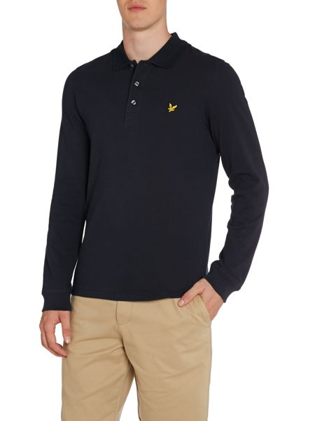 Lyle and Scott Logo Polo Regular Fit Polo Shirt