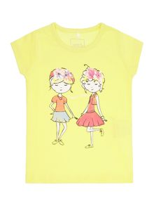 name it Girls Two Girls T-Shirt