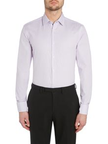 Hugo Boss Stripe Slim Fit Long Sleeve Shirt