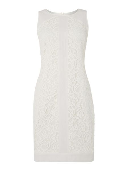 Vince Camuto Sleeveless lace dress