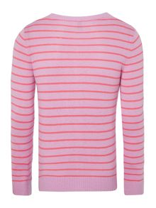 Girls stripe caridgan