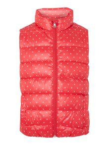 Girls Gilet Spot Jacket