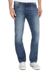 Orange 24 Regular Fit Jean In Light Wash