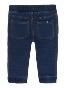 Baby boy jersey denim jeans