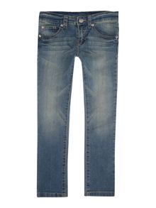 Boys basic denim trousers