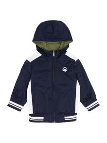 Boys lightweight reversible jacket