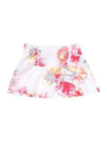 name it floral printed skirt