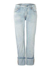 501 Boyfriend jean in rolling coast