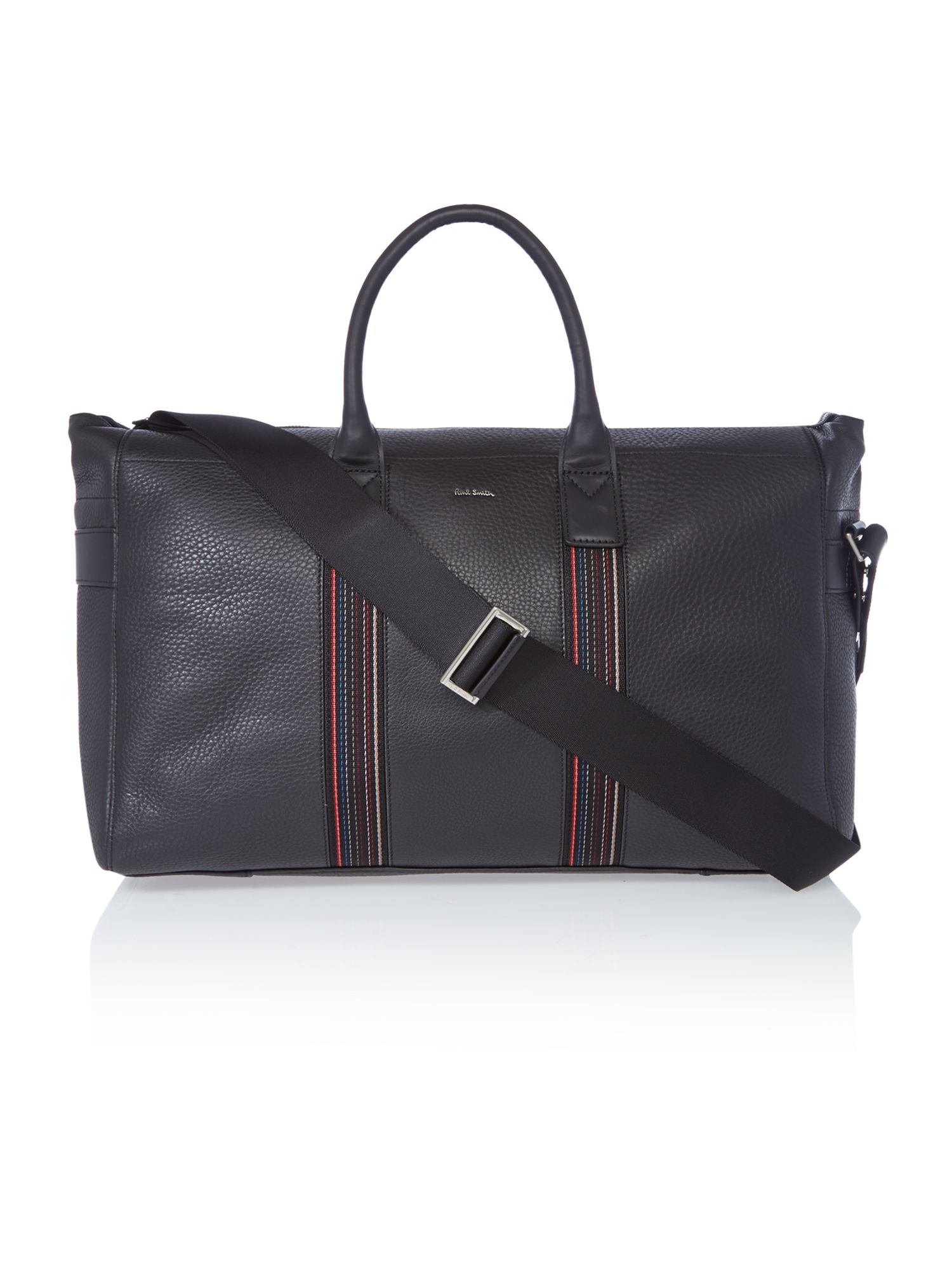 Paul Smith London Webbing Leather Holdall Bag