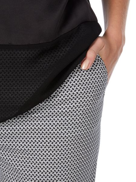 Oui Trousers with all over pattern