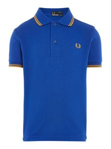 Fred Perry: Boys tipped pique polo