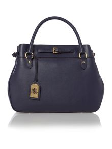 Layla navy large tote bag