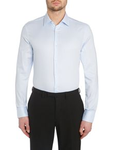 Slim Fit Long Sleeve Classic Collar Shirt