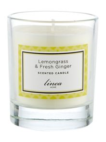 Linea Lemongrass & Ginger Single Candle