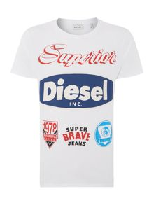 Diesel Badges Graphic T-Shirt