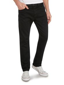 Buster 886Z Black Tapered Jeans