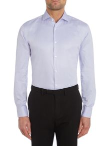 Hugo Boss Pattern Slim Fit Long Sleeve Shirt