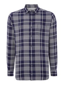 Diesel Check Long Sleeve Light Flannel Shirt