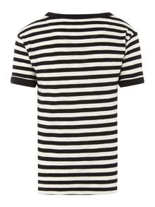 Fred Perry: Boys fine stripe t-shirt
